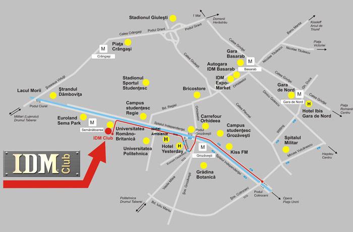 Bucharest Subway Map Harta Metroului Bucuresti Subway Map